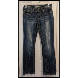 YMI ICON BOOTCUT JEANS JUNIORS SIZE 7